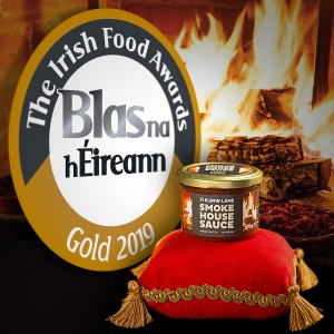 Our Sauce wins Gold in Irish Food Awards