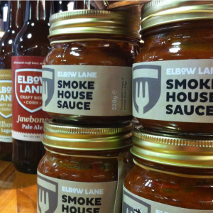 Our Smoke House Sauce now available in Bradley's, Cork