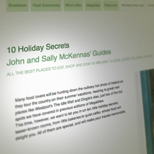 One of '10 Holiday Secrets' on McKennas' guides.ie