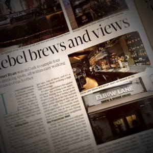 Sunday Business Post feature on beer in Cork